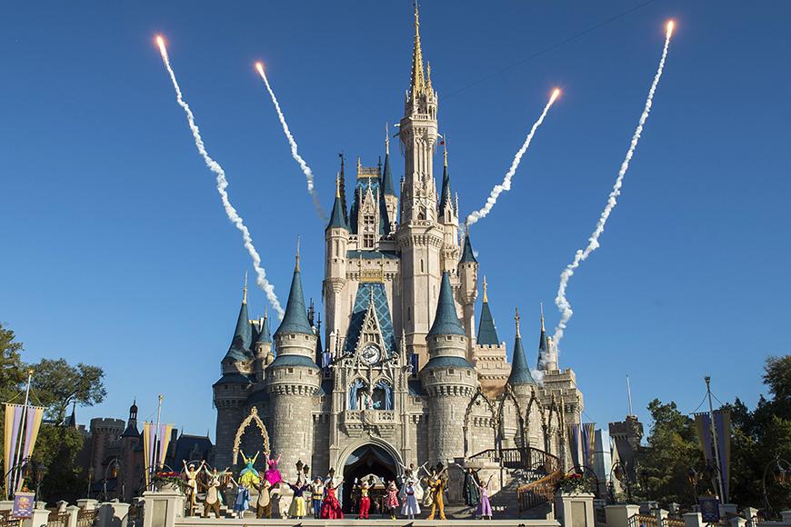 El reino mágico de Disney