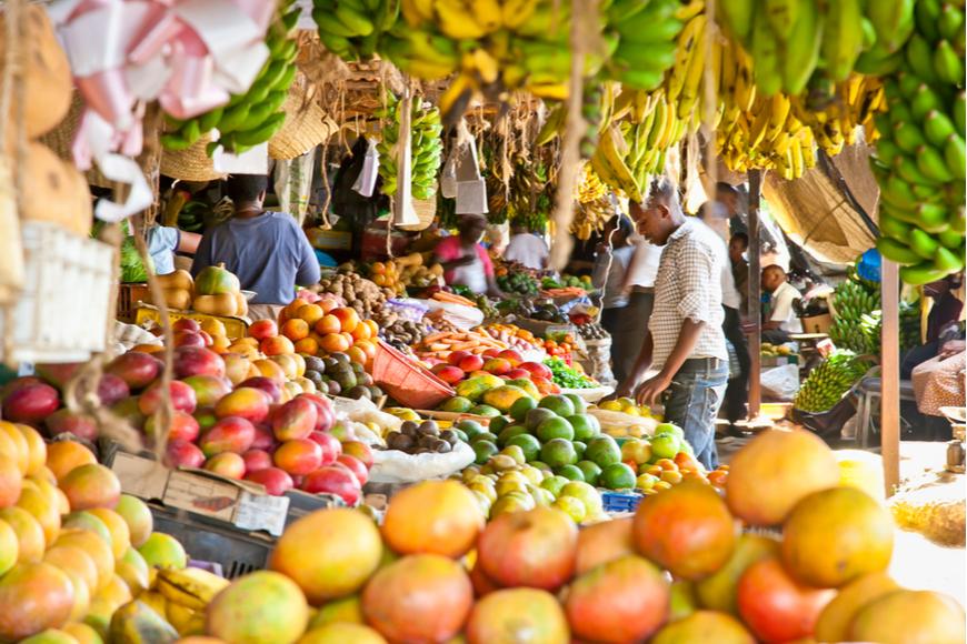 nnairobi kenya food market
