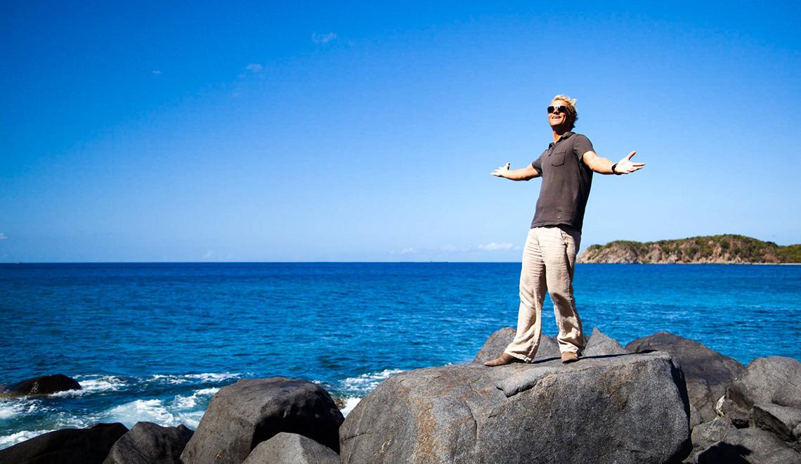 Cada fin de semana se siente como una vacación en el Caribe