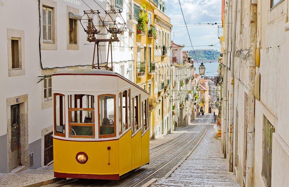 Portugal Tram Travel, Lisbon Tram