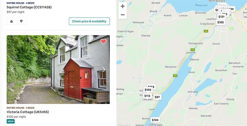 Itinerario perfecto de Escocia Airbnb Inverness