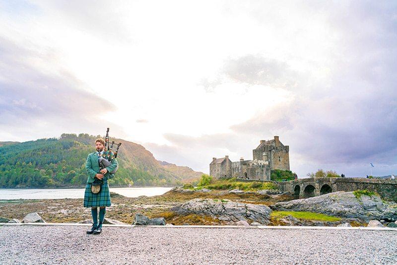 itinerario completo a Escocia
