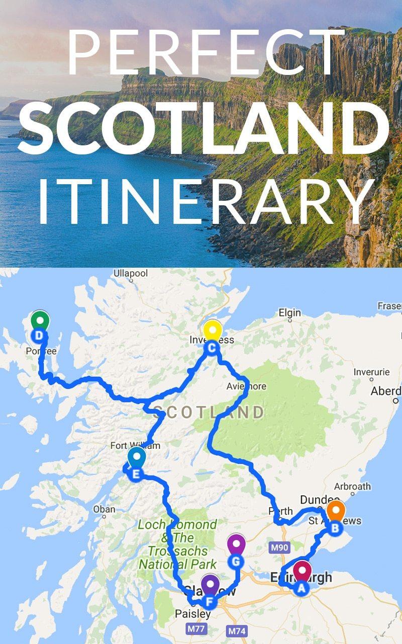 itinerario de Escocia