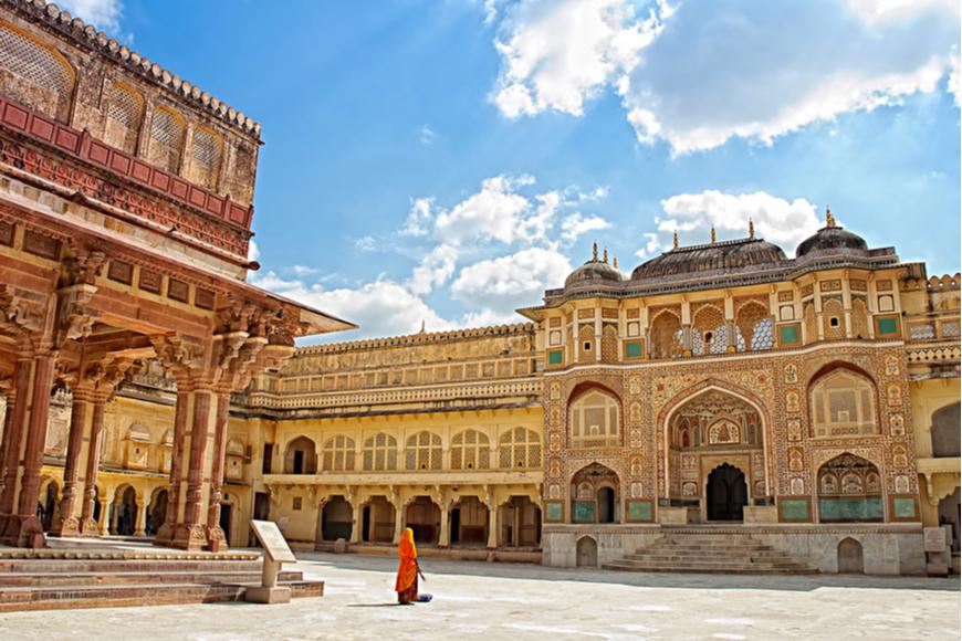 Amber Fort Jaipur India.