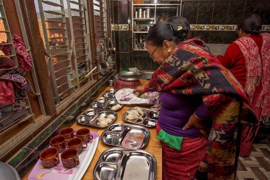 g Aventuras en Nepal Viviendo como local.