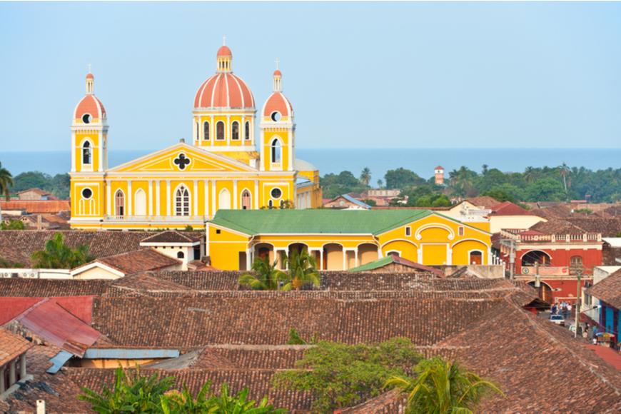Catedral de Granada Nicaragua,