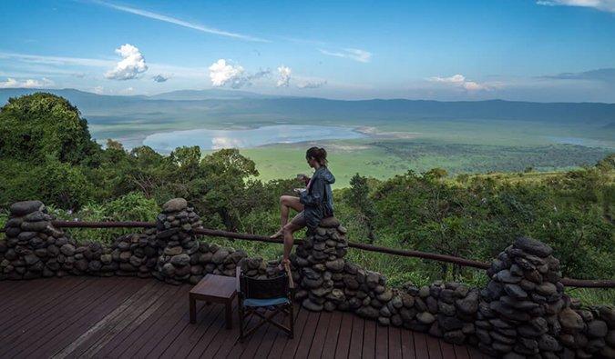 Kristin Addis en Tanzania