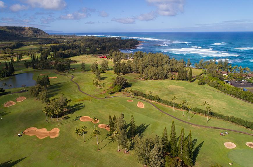campo de golf oahu