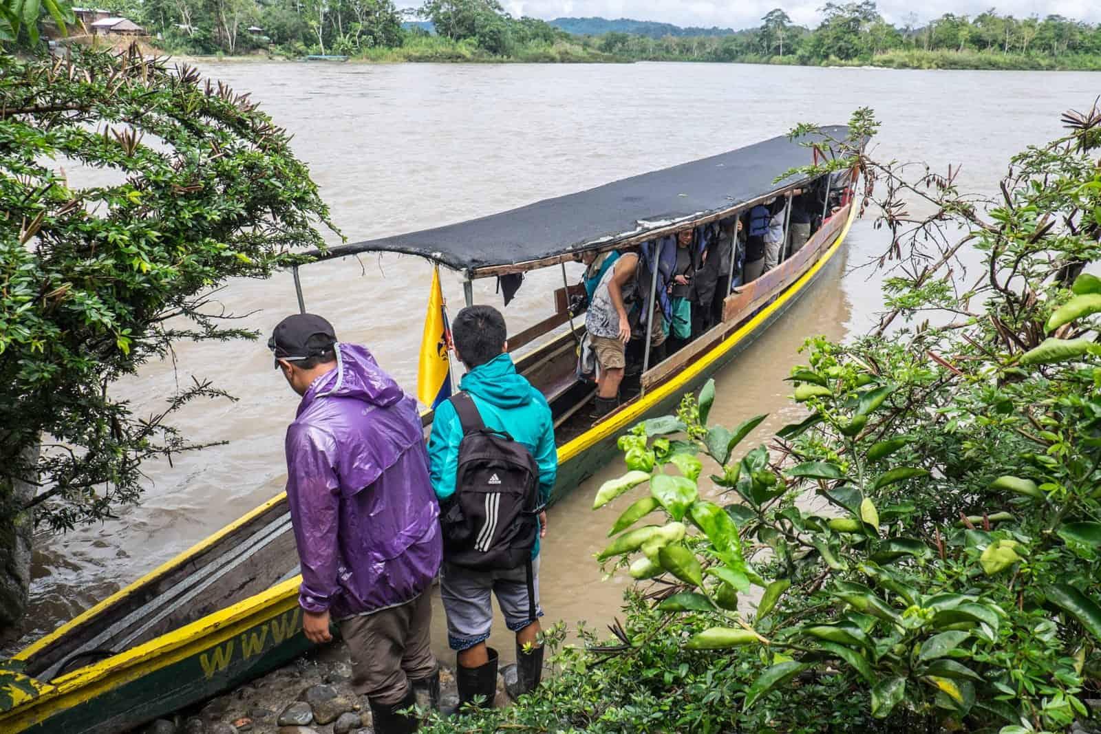 Viaje en barco a Ecuador Amazon Amazon