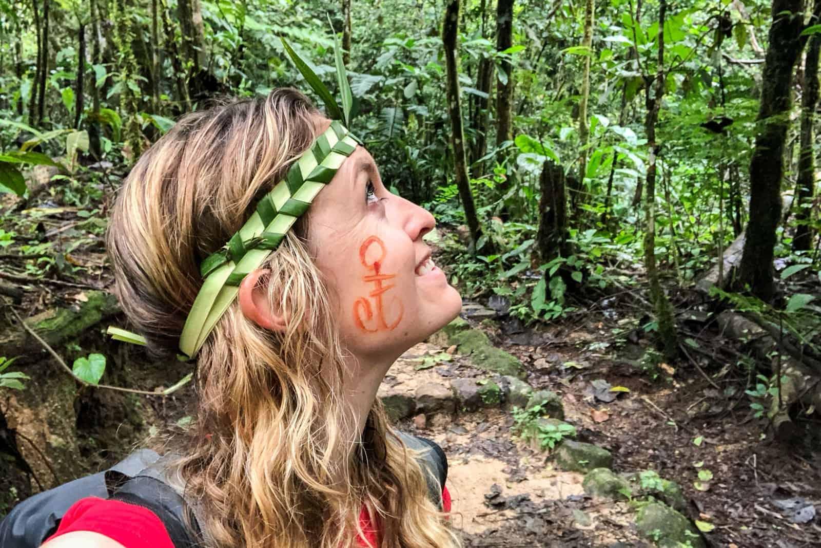 Una caminata en la selva de la Amazonía ecuatoriana
