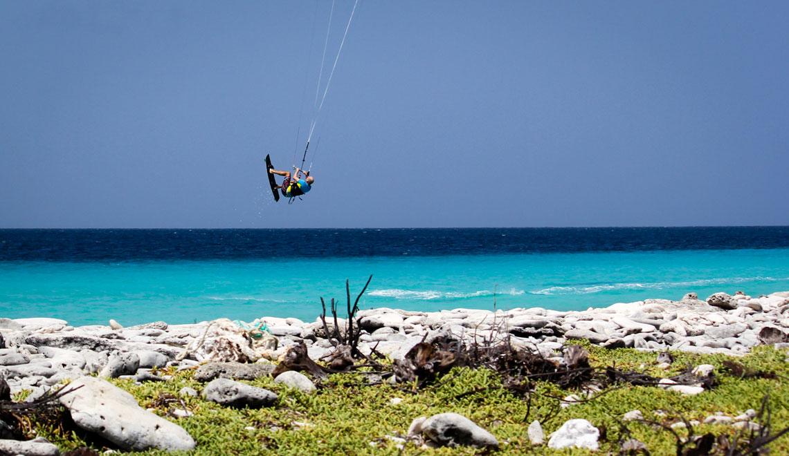 Kitesurf Klein Curacao