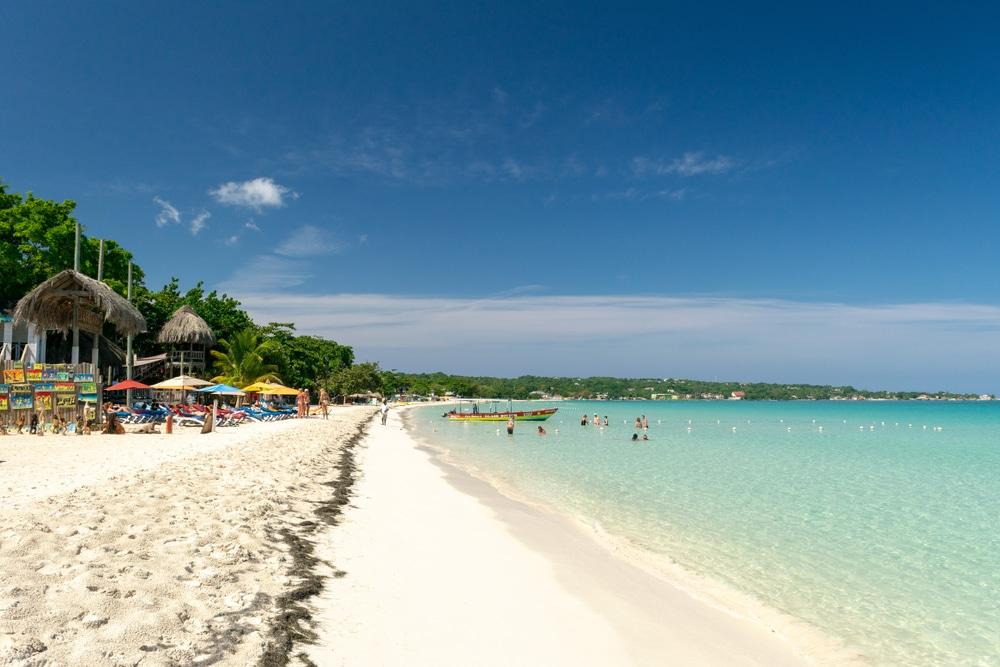 Playa de siete millas, Jamaica