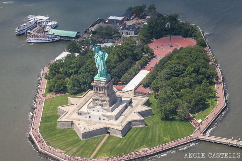 paseo en helicóptero a través de & # 39; empresas y los consejos & # 39; Nueva York
