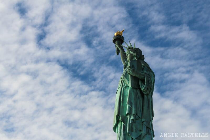 Visita la estatua de la libertad y subir la corona - Nueva York