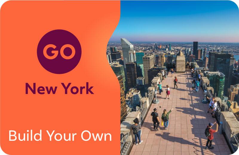 atracciones incluidas en el documento de & # 39; Nueva York Go