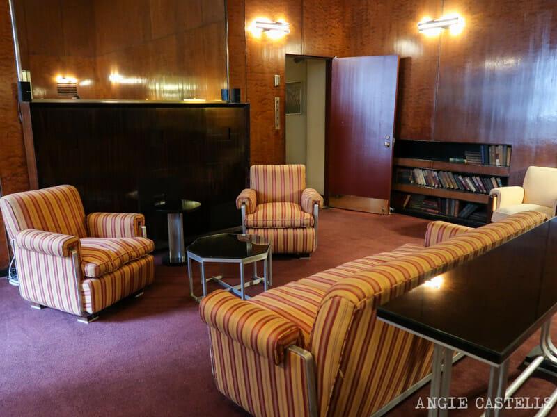 The Roxy Suite, el apartamento secreto de radio de teatro