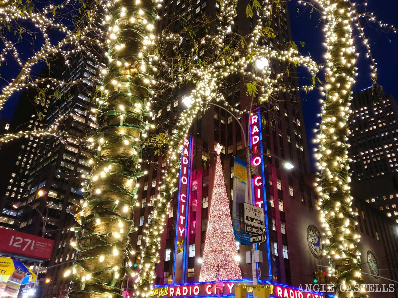 S & # 39; lo hace en Navidad en Nueva York - Radio City Music Hall
