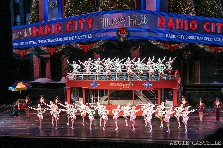 Rockettes Nueva York Radio City Music Hall de Navidad