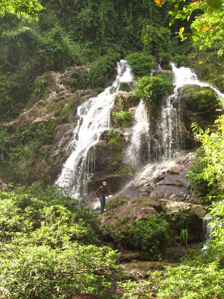 Bocavina Falls, Belice