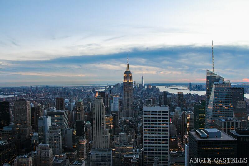 Subir & # 39; en la parte superior del Centro Rockefeller de Rock & # 39; Nueva York