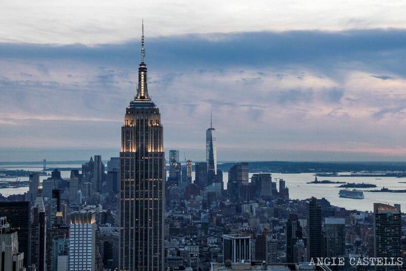 Suba & # 39; el Empire State Building de & # 39; Nueva York Inicio de la Peña 1