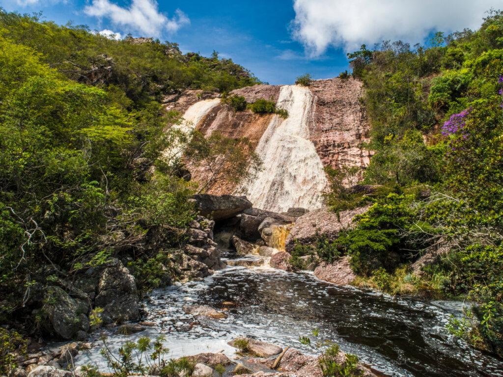 Cascada de Conceicao dos Gatos Chapada Diamantina Bahía Brasil