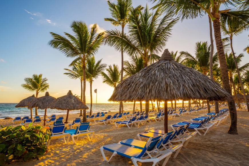 punta cana, resort tropical República Dominicana.