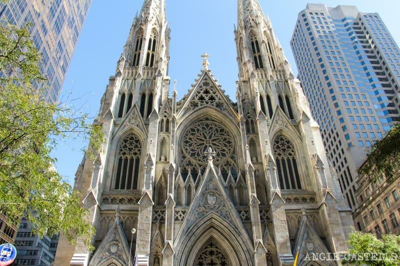Guía del Rockefeller Center - catedral de St. Patrick
