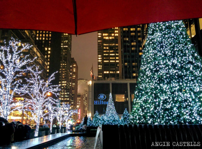 S & # 39; se hace en Nueva York cuando llueve o irxox