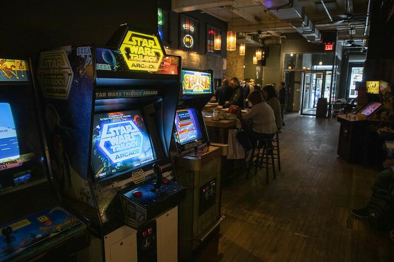 Barra de Nueva York por juego - Barcade