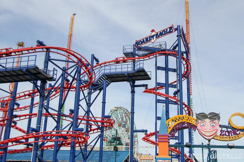 Visita Coney Island Nueva parque de atracciones y la playa York