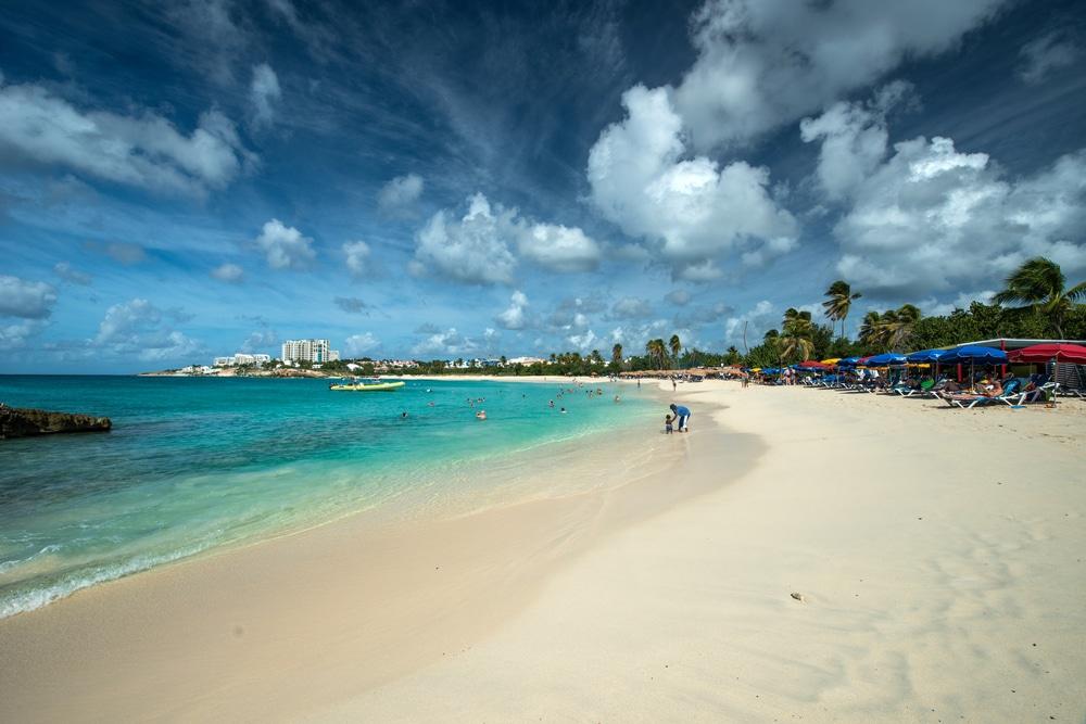 Mullet Bai, St Maarten