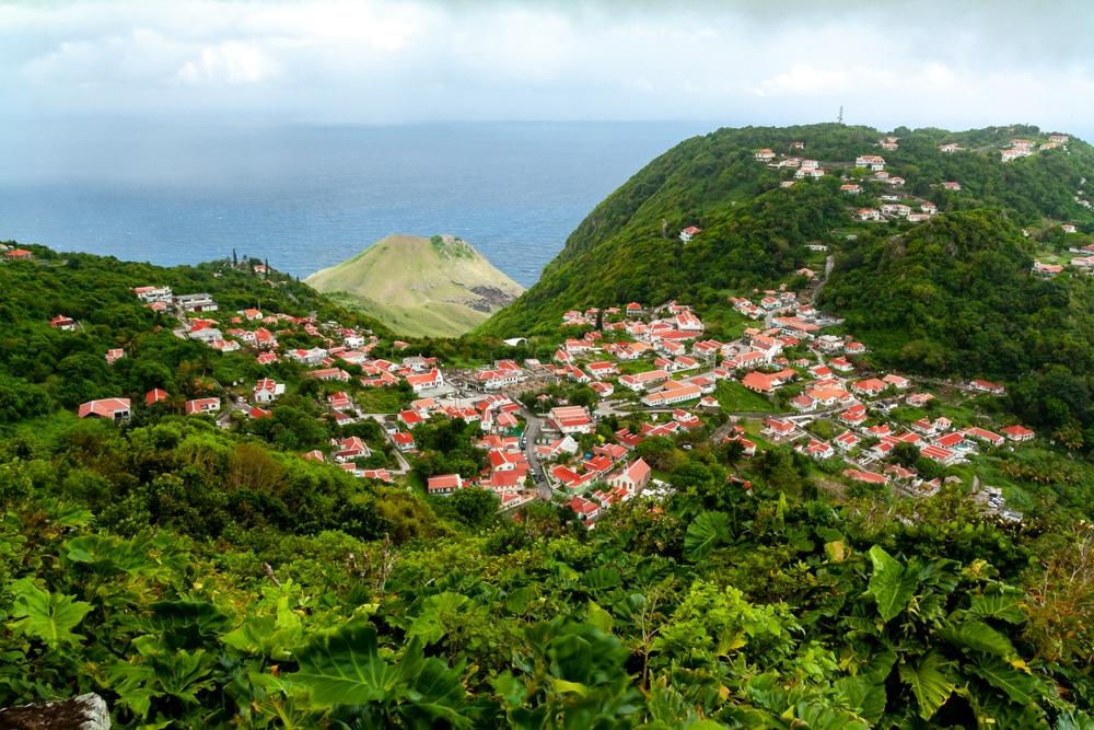Isla Saba, Caribe