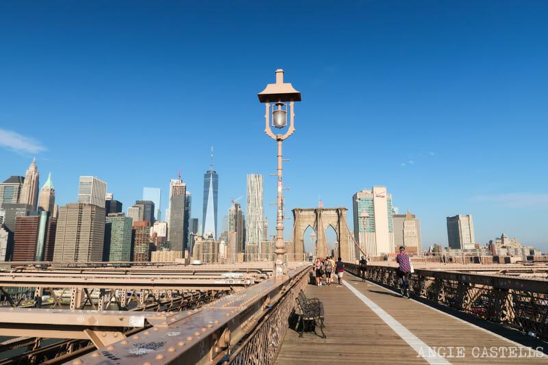 Consejos para cruzar el puente & # 39; Brooklyn caminar