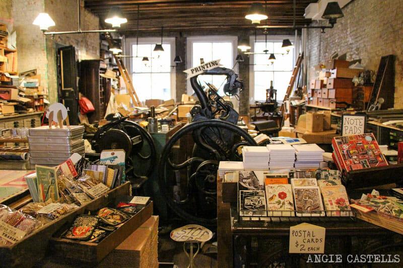 original Stores- Nueva York impresión, BOWNE South St. -Seaport-800-1