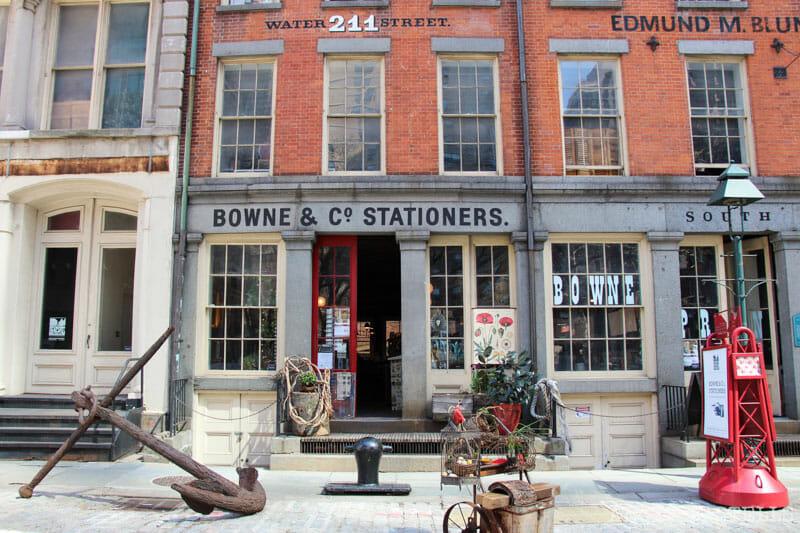 original Tiendas Nueva York-Impresión-BOWNE South St. Seaport, 800-1