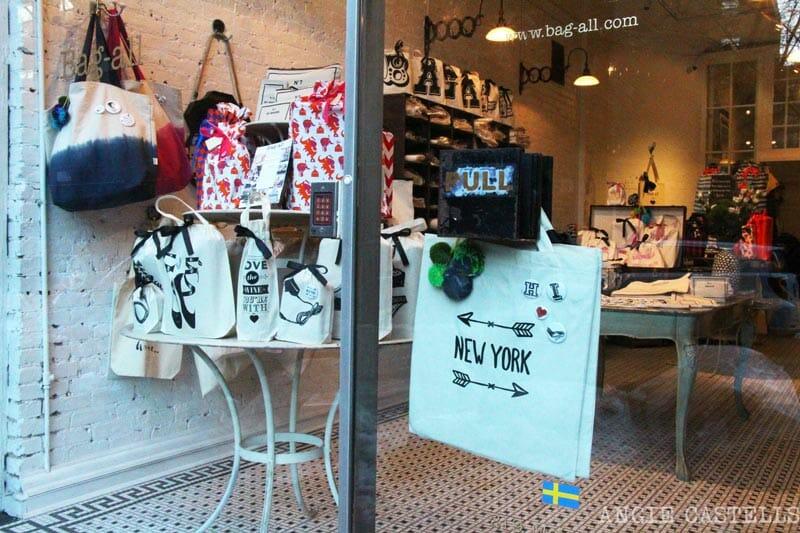Las mejores tiendas & # 39; Nueva York regalos todo el bolso