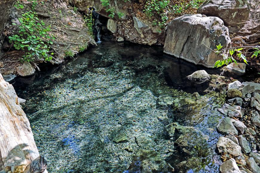 Jordan Hot Springs, cerca de Silver City, Nuevo México