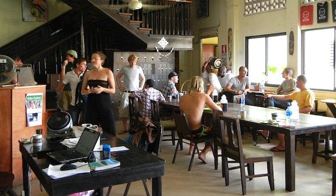 hostal Luna en la ciudad de Panamá