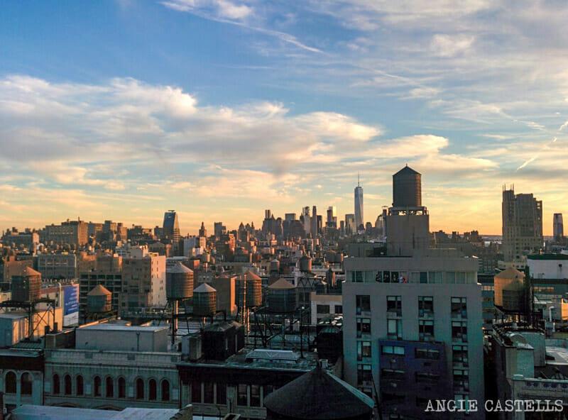 Primavera en Nueva York para hacer tejados