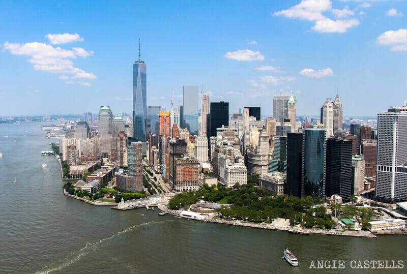 paseo en helicóptero a través de & # 39; empresas y consejos & # 39; Nueva York