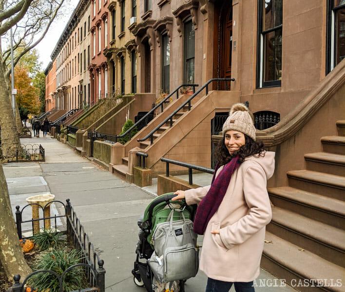 Caminar por las calles de & # 39; Fort Greene, en Brooklyn