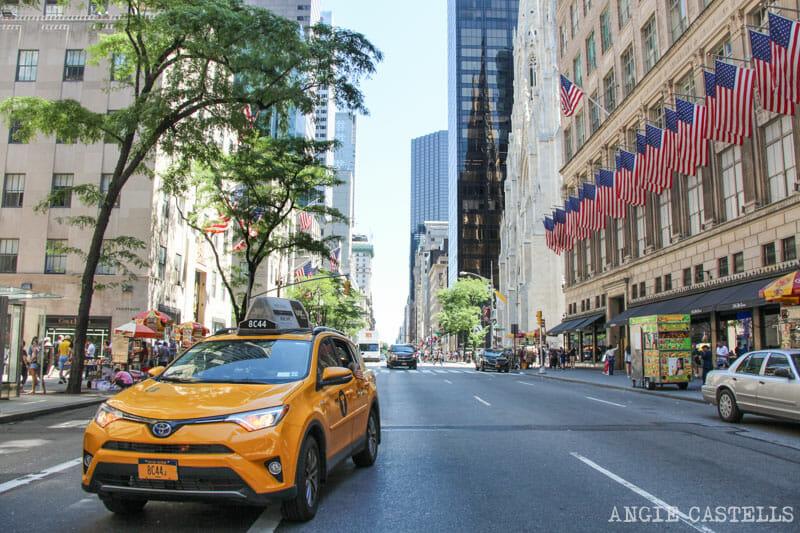 Lo-a-ver Nueva York al día Ruta Manhattan, Quinta Avenida, el Rockefeller