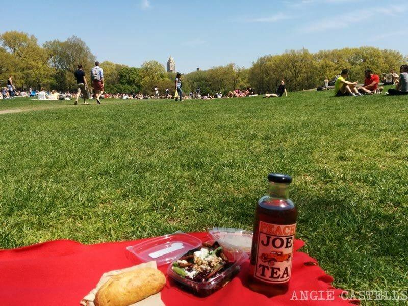 de picnic en Central Park, Whole Foods, Nueva York
