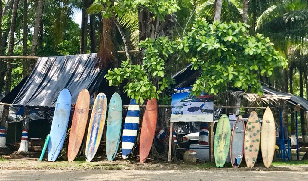 Tablas de surf de playa