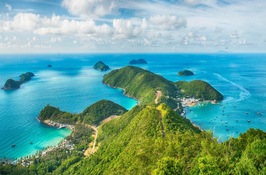 Islas en el sudeste asiático