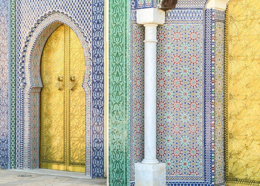 Mezquita marroquí