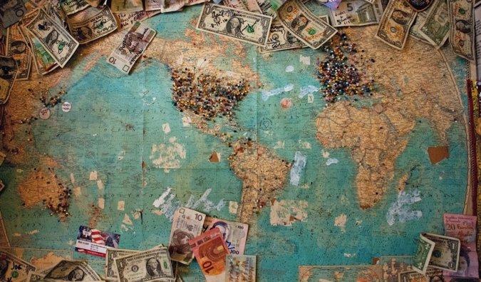 planeando un viaje al extranjero
