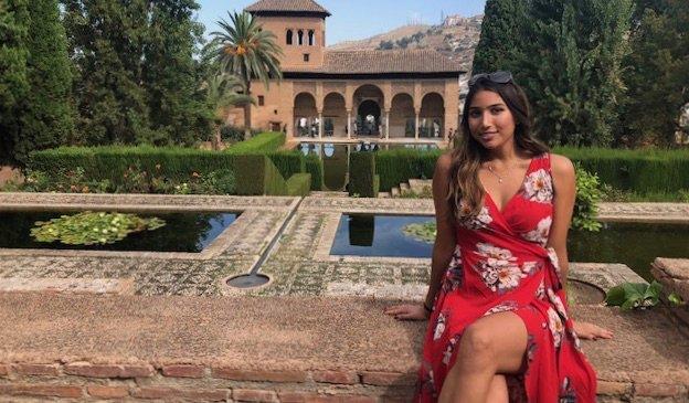 Natasha, viajera en solitario y profesora de inglés en España