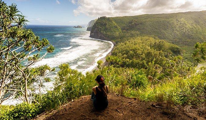 Kristin Addis en Hawaii